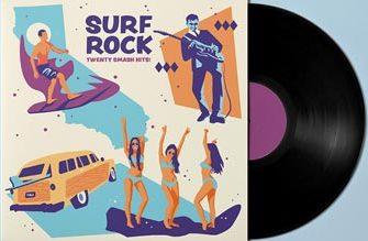 Радио с музыкой Surf Rock